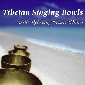 Tibetan Singing Bowls with Relaxing Ocean Waves album cover